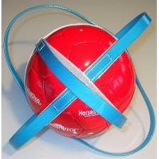 Horse-Ball Training Ball - Blue Azure- On Discount !