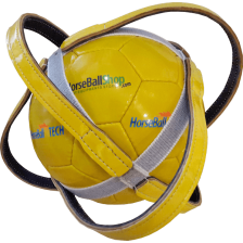 "Horse-Ball Competition ball  ""Ponte De Lima"" - World Cup Edition Yellow"
