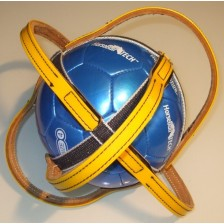 Horse-Ball Competition ball Dark Yellow - On Discount !