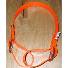 Pick-up Strap in BioThane. Collecting Girth - Orange