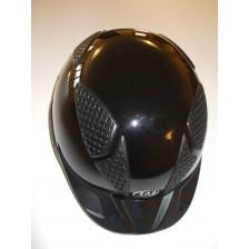Horse-Ball Helmet LAS - Mod Aries 101 - V2 - Glossy Black - Personalizable