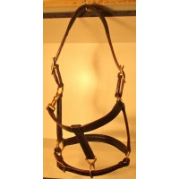 Halter made of Leather for Horse-Ball