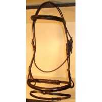 Bridle made of Leather for Horse-Ball