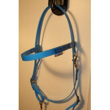 HorseBallTech Bridle made of BioThane® - Blue