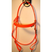 HorseBallTech Bridle made of BioThane® - Orange