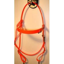 HorseBallTech Bridle made of BioThane® - Orange