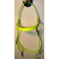 Cabezada HorseBallTech hecha de BioThane® - Amarillo