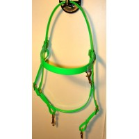 HorseBallTech Bridle made of BioThane® - Green