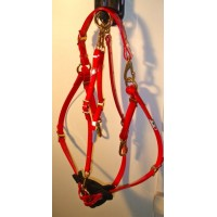 Breastplate HorseBallTech made of BioThane® - Red