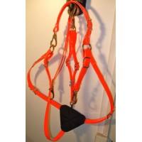 Petchopetrales HorseBallTech hecha de BioThane® - Naranja