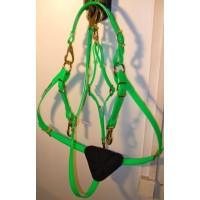 Breastplate HorseBallTech made of BioThane® - Green