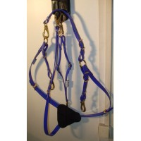 Breastplate HorseBallTech made of BioThane® - Dark Blue
