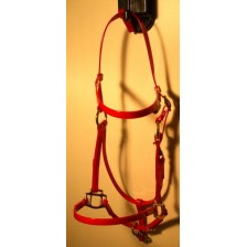 Bridle/Halter HorseBallTech made of  BioThane® - Red