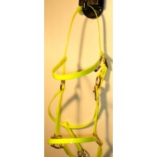Bridle/Halter HorseBallTech made of  BioThane® - Yellow