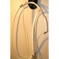 Ringmartingal von HorseBallTech BioThane® - Weiß