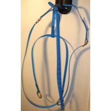 Martingale in Biothane HorseBallTech - Blue