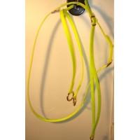Martingale HorseBallTech made of BioThane® - Yellow