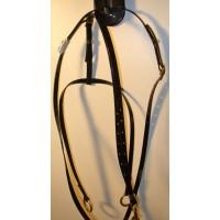 Martingale HorseBallTech made of BioThane® - Glossy Black