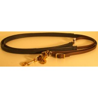 Leather Reins HorseBallTech made of BioThane® - Brown