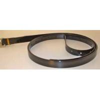 Stirrups Leather HorseBallTech made of BioThane® - Glossy Black