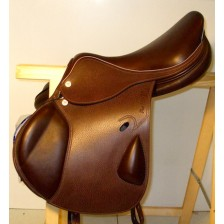 Horse-Ball Saddle Pro-Elite HorseBallTech(™) Brown Leather
