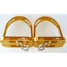 Horse-Ball Stirrup of HorseBallTech™ - On Discount ! Adult Size - Color Gold