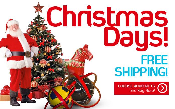 Christmas Days... Free Shipping!