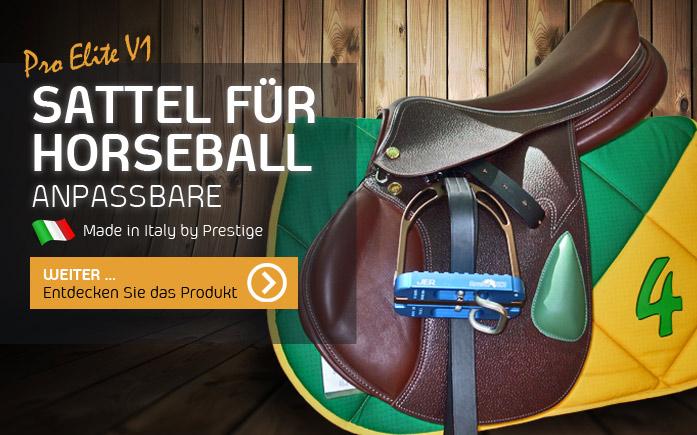 Horseball Sättel