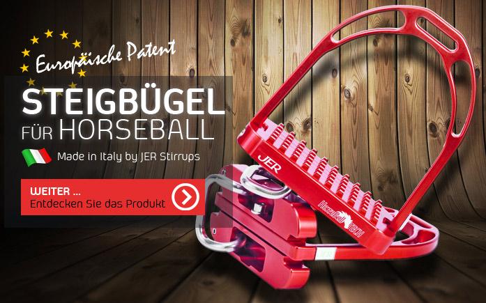 Horseball Steigbügel