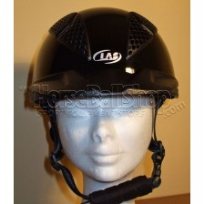 Horse-Ball Helmet LAS - Mod Aries 101 - Glossy Black - END OF SERIE !