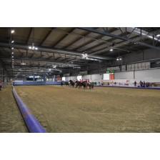 Tubolari gonfiabile per i lati lunghi per un campo da Horse-Ball