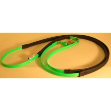Leather Reins HorseBallTech made of BioThane®
