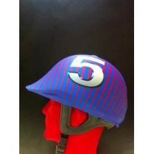 Copri-Cap personalizzati per l'Horse-Ball, Poney Games, Mounted Games, Polo