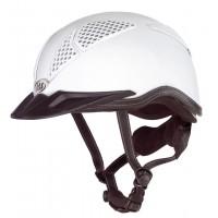 Horse-Ball Helmet - Mod LAS Aries 101 - White - END OF SERIE !
