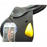 Horse-Ball Saddle Pro-Elite HorseBallTech(™) Black Leather - On Discount !