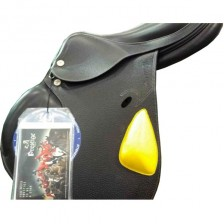 Horse-Ball Saddle Pro-Elite HorseBallTech(™) Black Leather