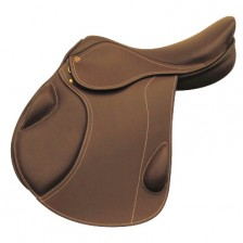 Horseball Saddle Brown Leather